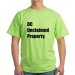 DC Unclaimed Property Green T-Shirt