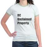 DC Unclaimed Property Jr. Ringer T-Shirt