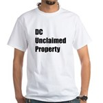 DC Unclaimed Property White T-Shirt