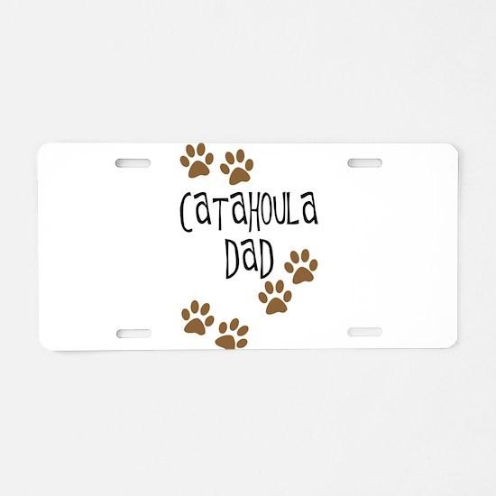 Catahoula Dad Aluminum License Plate