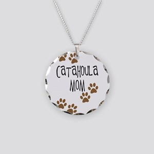 Catahoula Mom Necklace Circle Charm