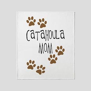 Catahoula Mom Throw Blanket