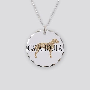 Catahoula Leopard Dogs Necklace Circle Charm