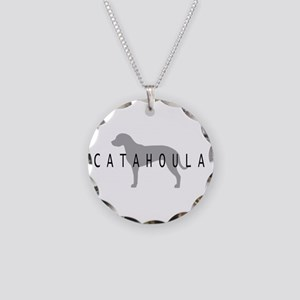 Catahoula Necklace Circle Charm
