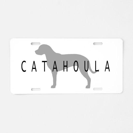 Catahoula Aluminum License Plate