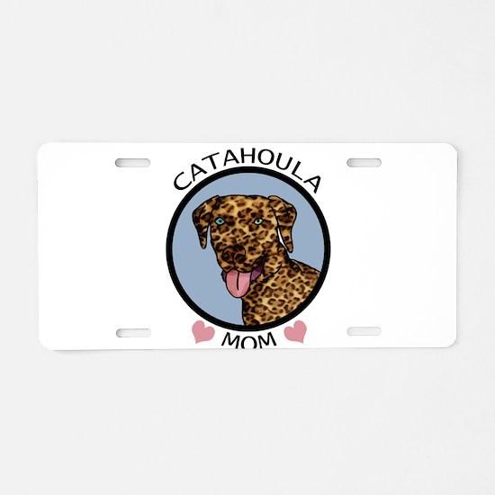 Catahoula Mom Aluminum License Plate
