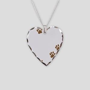 Labrador Mom Necklace Heart Charm