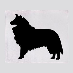 Collie Dog Breed Throw Blanket