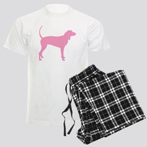Pink Coonhound Men's Light Pajamas