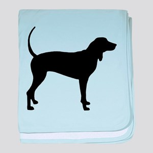 Coonhound baby blanket