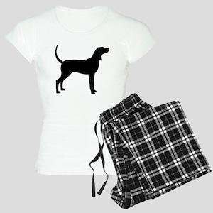 Coonhound Dog (#2) Women's Light Pajamas