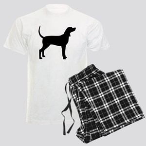Coonhound Dog (#2) Men's Light Pajamas