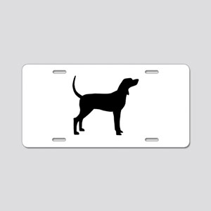 Coonhound Dog (#2) Aluminum License Plate