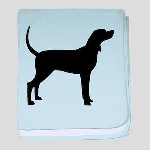 Coonhound Dog (#2) baby blanket