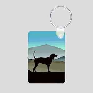 Blue Hills Coonhounds Aluminum Photo Keychain