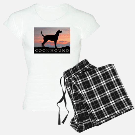 Sunset Coonhound Pajamas