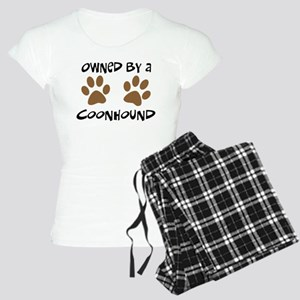 Owned By A Coonhound Women's Light Pajamas