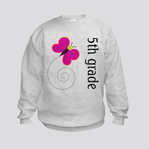 Cute Fifth Grade Kids Sweatshirt