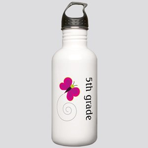 Cute Fifth Grade Stainless Water Bottle 1.0L