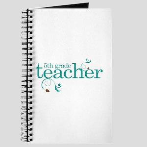5th Grade Best Teacher Gift Journal