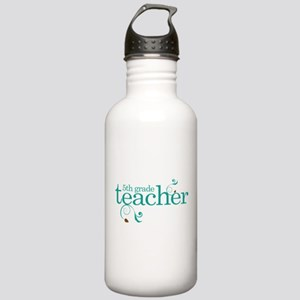 5th Grade Best Teacher Gift Stainless Water Bottle