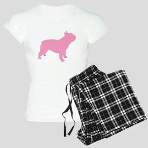 Pink French Bulldog Women's Light Pajamas