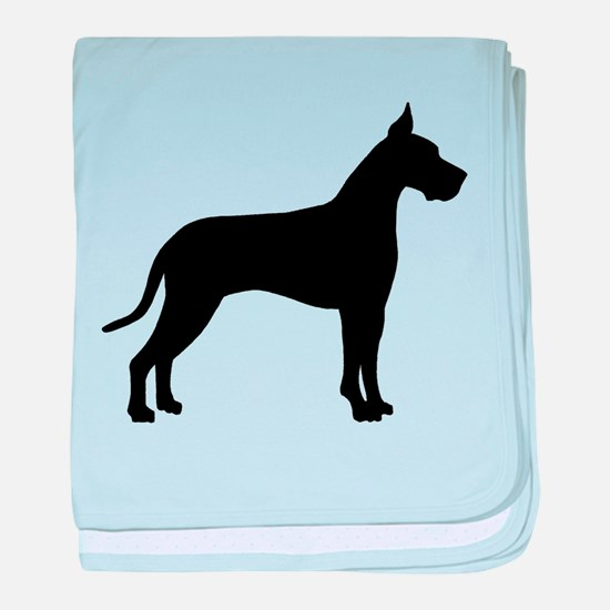Great Dane baby blanket