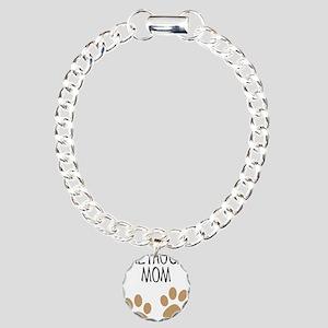 Greyhound Mom Charm Bracelet, One Charm