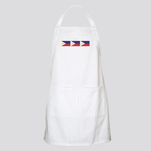 3 Philippine Flags Apron