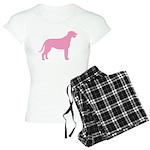 Pink Irish Wolfhound Women's Light Pajamas