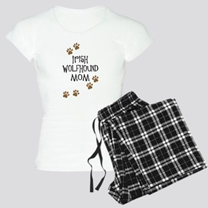 Irish Wolfhound Mom Women's Light Pajamas