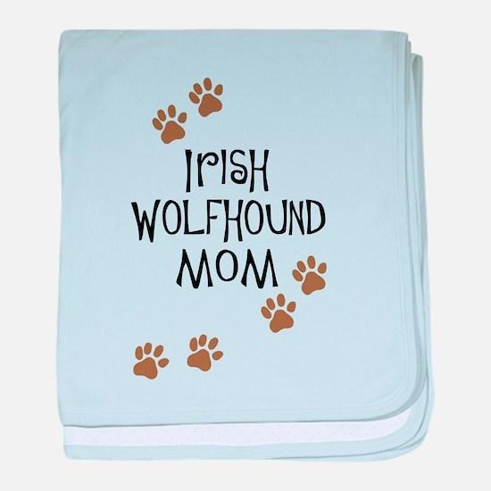 Irish Wolfhound Mom baby blanket