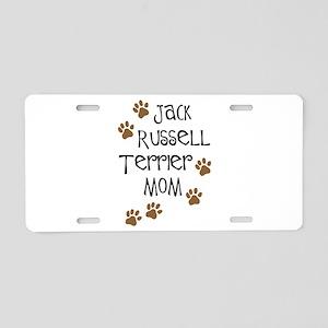 Jack Russell Terrier Mom Aluminum License Plate