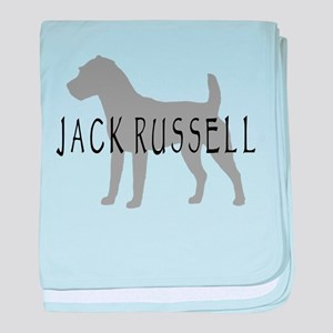 Jack Russell Dog baby blanket
