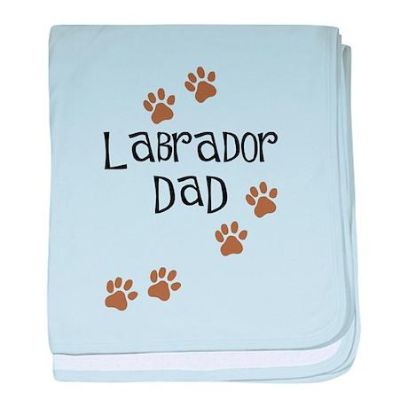 Labrador Dad baby blanket