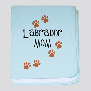 Labrador Mom baby blanket