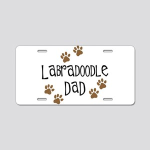Labradoodle Dad Aluminum License Plate