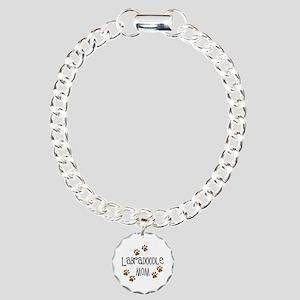 Labradoodle Mom Charm Bracelet, One Charm