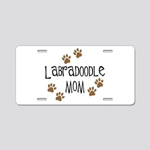 Labradoodle Mom Aluminum License Plate