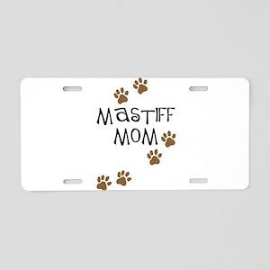 Mastiff Mom Aluminum License Plate