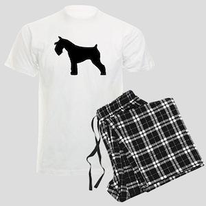 Miniature Schnauzer Men's Light Pajamas