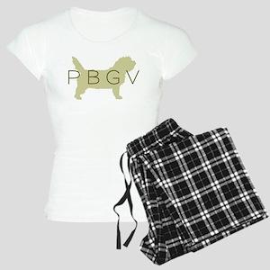 PBGV Dog Sage Women's Light Pajamas