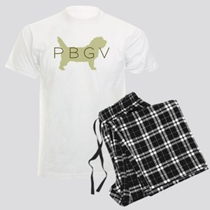 PBGV Dog Sage Men's Light Pajamas