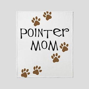 Pointer Mom Throw Blanket