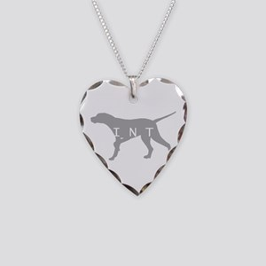 Pointer Dog Breed Necklace Heart Charm