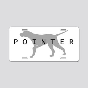 Pointer Dog Breed Aluminum License Plate