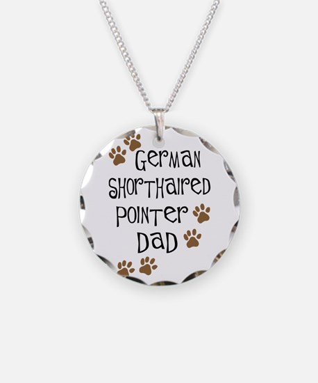 G. Shorthaired Pointer Dad Necklace