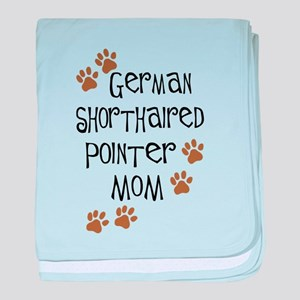German Shorthaired Pointer Mo baby blanket