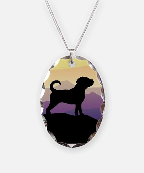 Purple Mountains Puggle Necklace