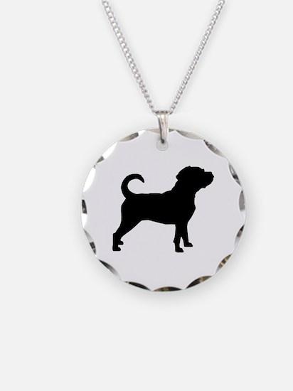 Puggle Dog Necklace